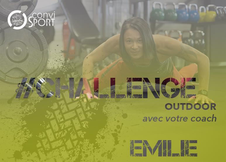 Challenge avec Emilie